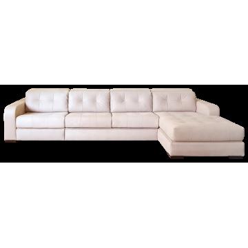 Милан, угловой диван с оттоманкой