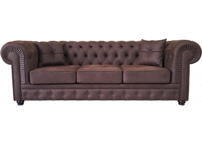 Честер, прямой диван 3-х местный