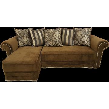 Монреаль, угловой диван с оттоманкой